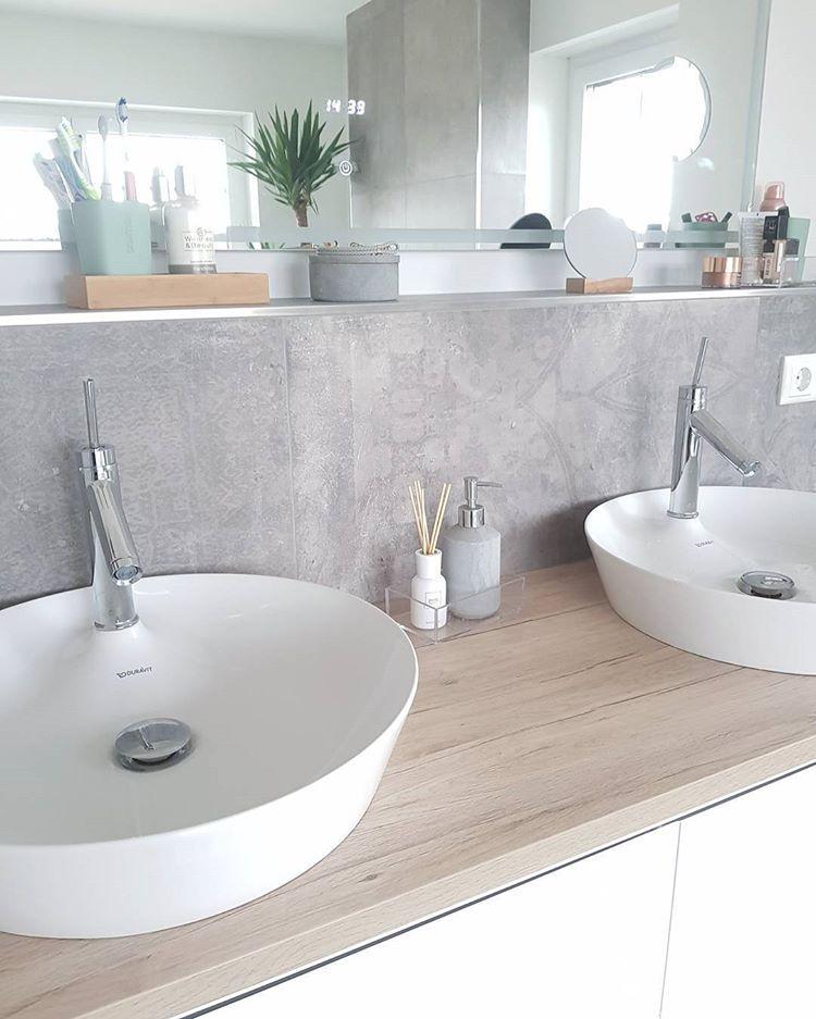"""Photo of Selina on Instagram: """"Guten Morgen und einen guten Start in die Woche ?♀️ #bathroomdesign #bathroom #masterbathroom #waschtischplatte #waschtisch…"""""""