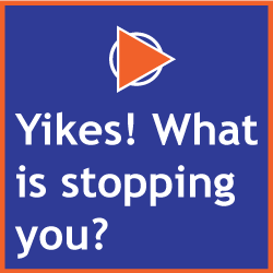 Yikes! What is stopping you?