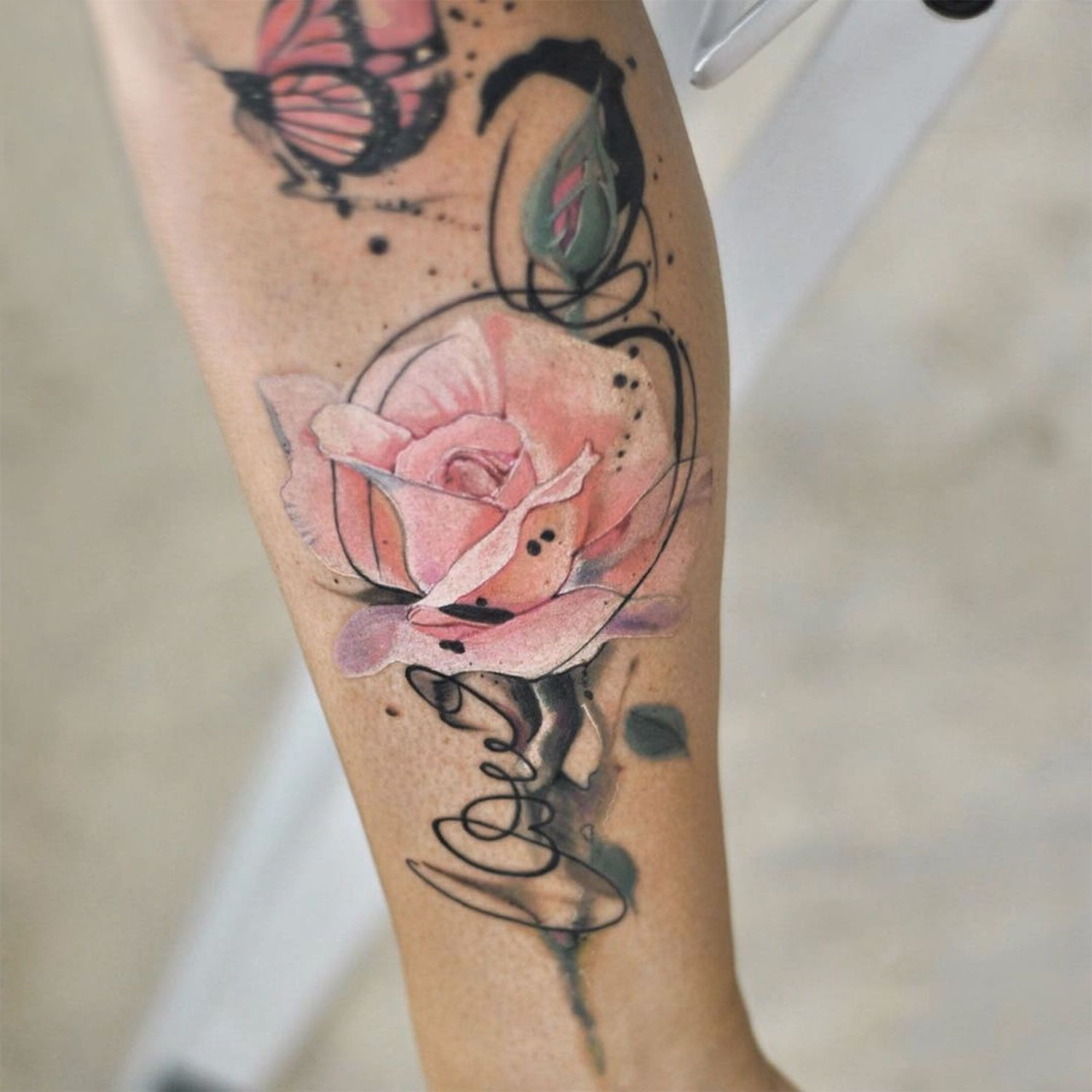 Photo of 50+ ideas for rose tattoo – the symbol of true love – tattoo styles