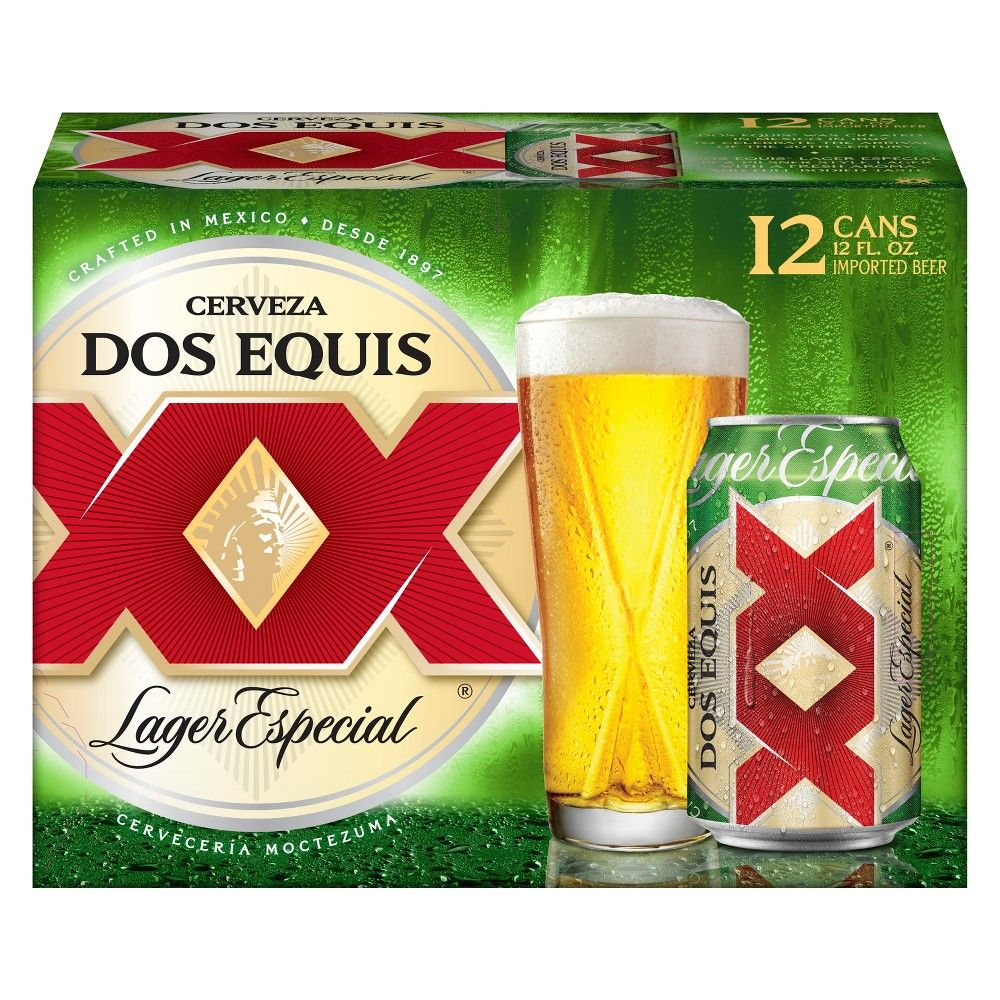 Dos Equis Lager Especial Beer 12pk 12 Fl Oz Cans In 2020 Lager Beer Craft Beer