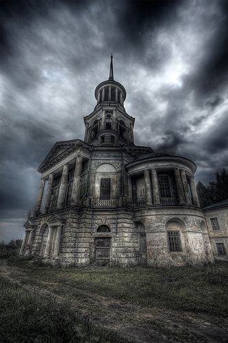 Abandoned...forgotten...a soul's demise...cold and dark...always dark!..Time's muse...silent... forever silent.  ~cg