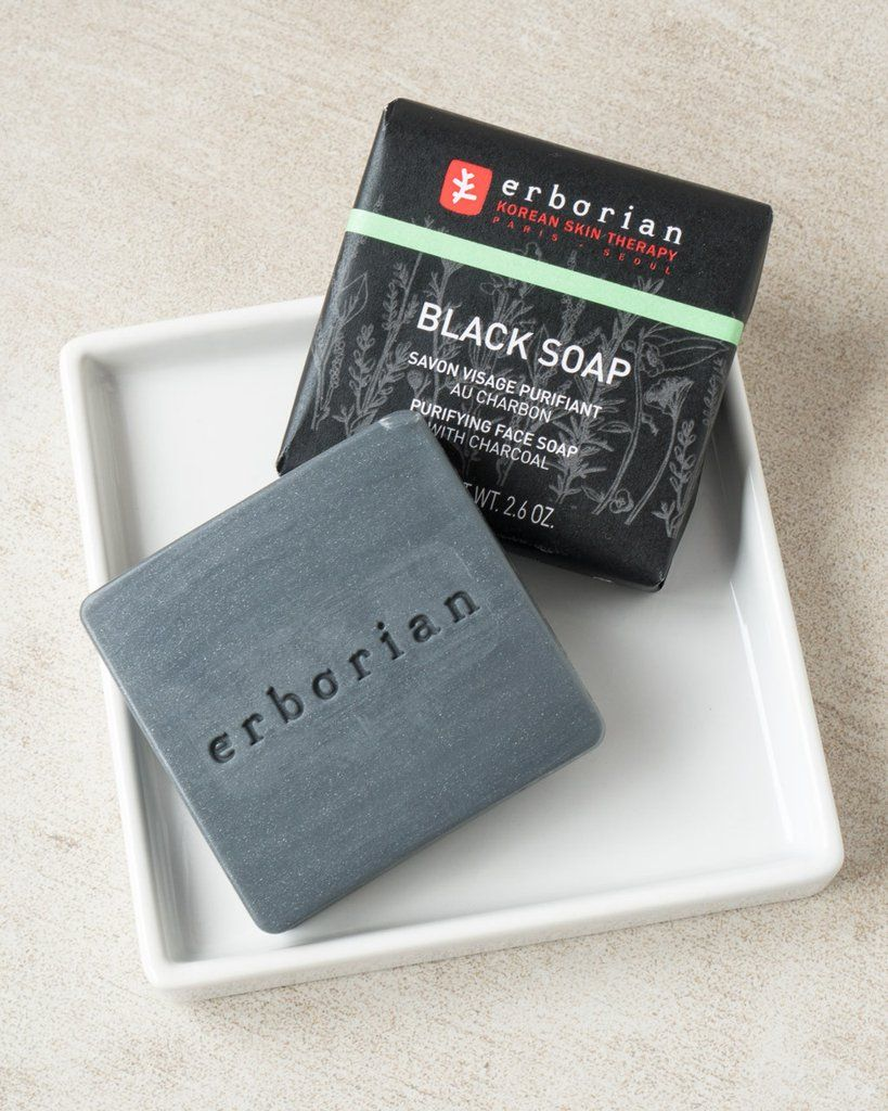 black soap ansikte