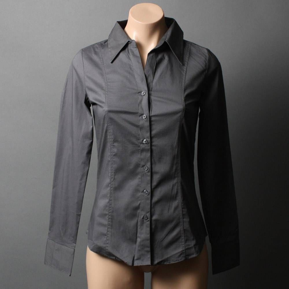 gray button down shirt women's | Gommap Blog