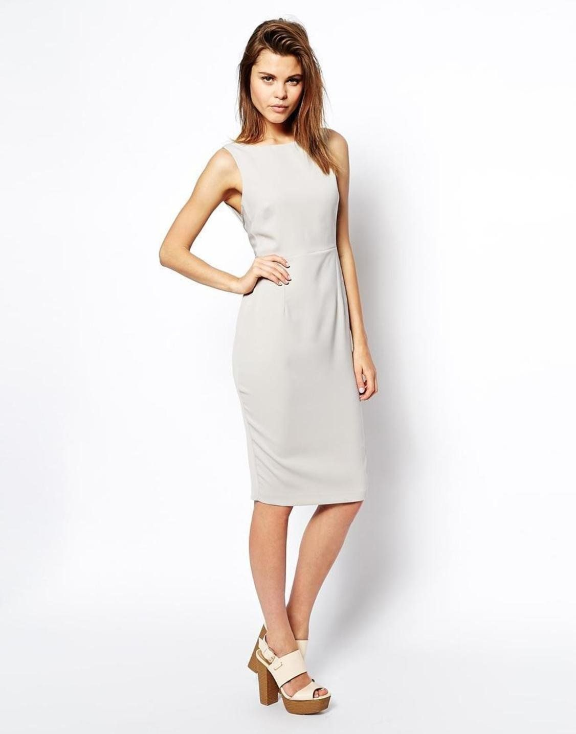 9407526e9d ASOS Bow Back Midi Pencil Dress http   picvpic.com women-