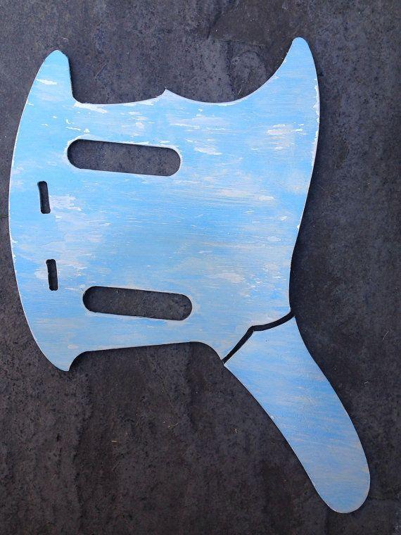 Fender Mustang metal pickguard. Sonic Blue by TorontoMusicGear ...