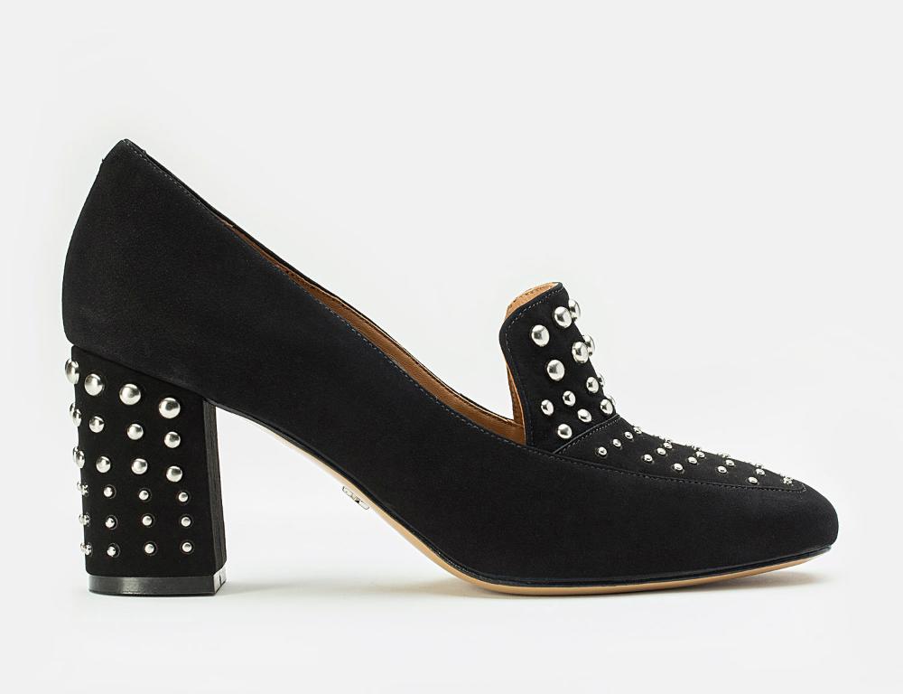 Czolenka Damskie Czarne 33909 03 00 Z Kolekcji 2016 Sklep Internetowy Kazar Heels Heeled Mules Mule Shoe