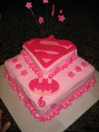 superbat girl cake party ideas Pinterest Bat girl Girl cakes