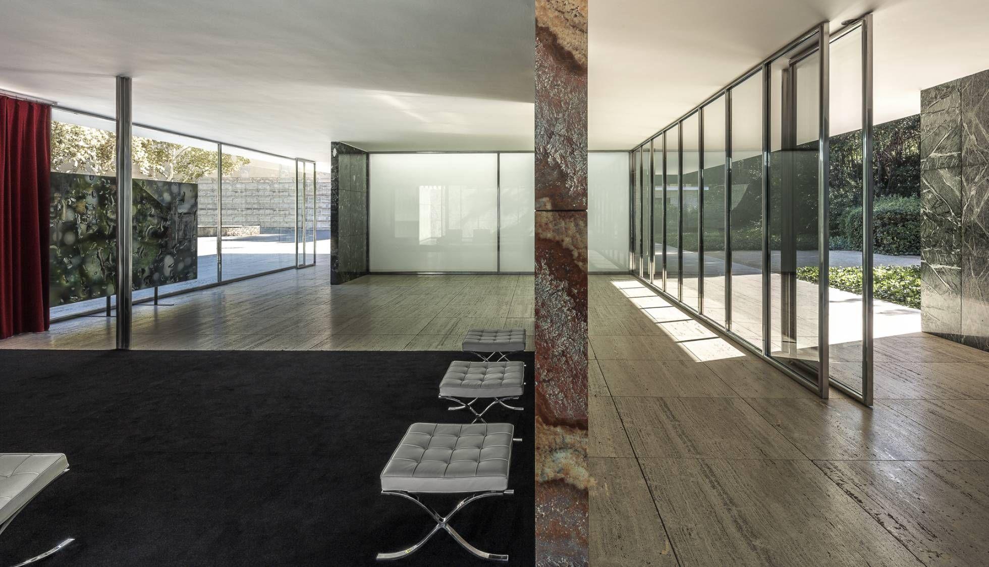 Mies van der d nde noticias pabell n arquitectura y for Casa minimalista barcelona capital