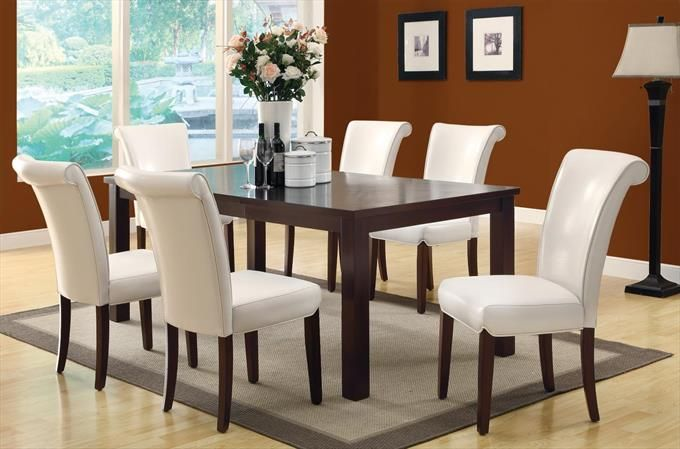 2 Pieces Side Chair In Taupe 40 X 60 X 78 Veneer Dining Table