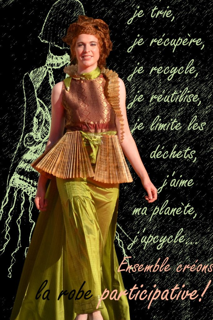 4fab9e104d0 Robe participative - Fabienne Dimanov Paris