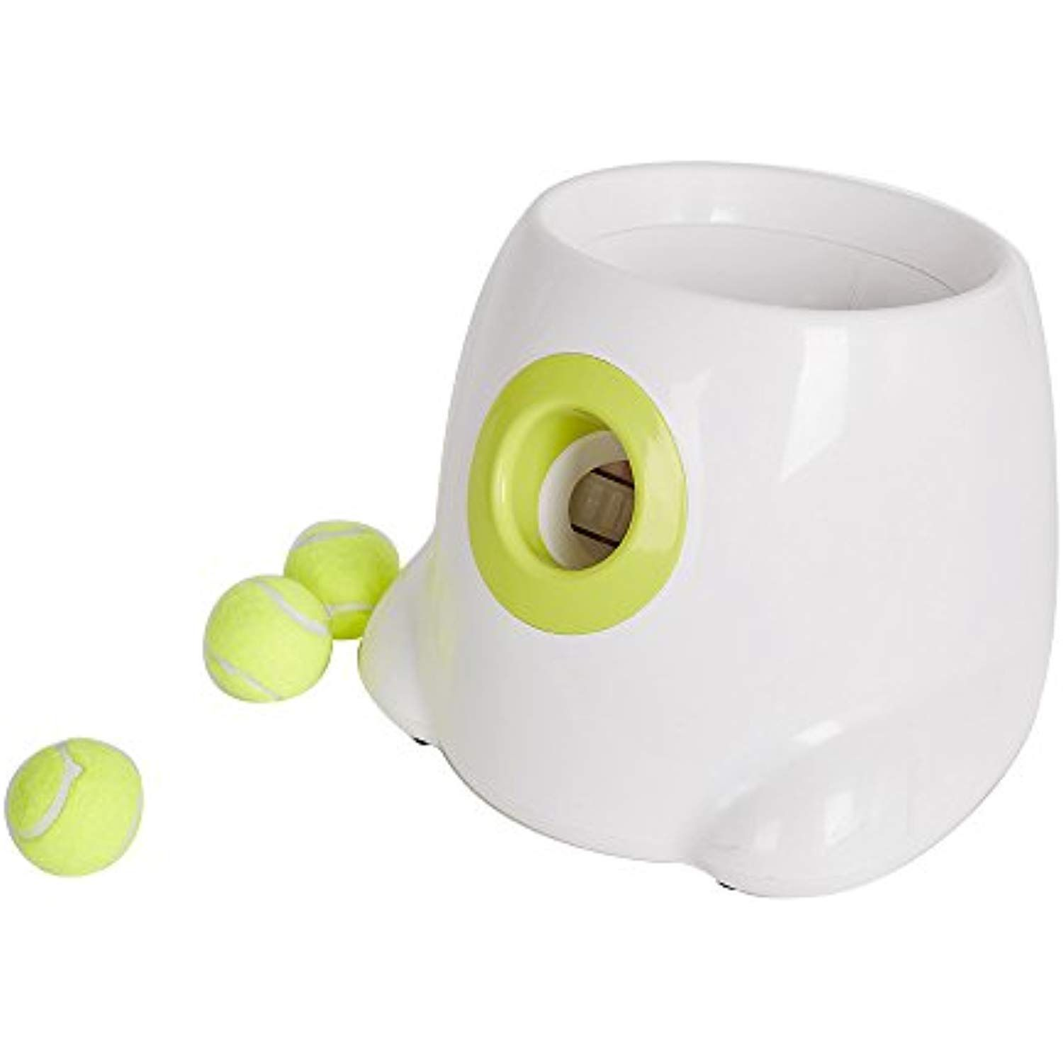 Karmas Product Interactive Ball Launcher For Dogs With Tennis Balls Tennis Ball Throwing Machine For Trainning With Images Dog Toy Ball Ball Launcher Ball Throwing Machine