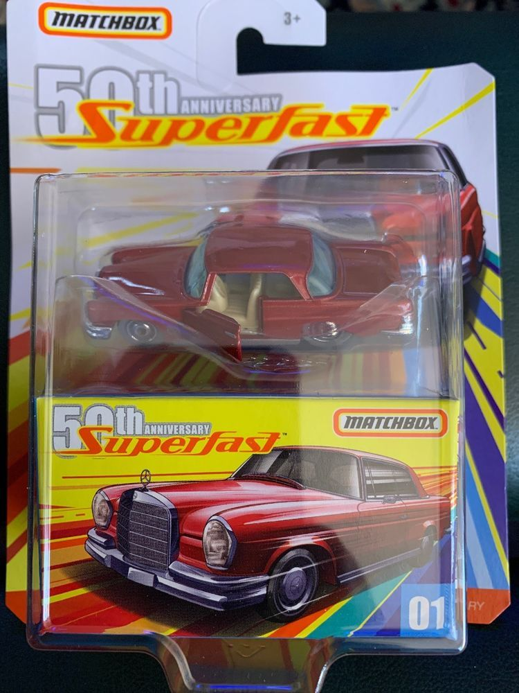 Details about 2019 Matchbox Superfast 01 1962 Mercedes
