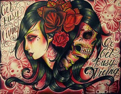 Tattoo Illustrations by Whitney Lenox | Hair tattoos, Pin ...