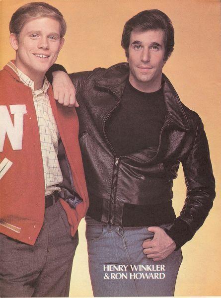 Ron howard and henry winkler programmi televisivi del passato in italia - Howard divo del passato ...