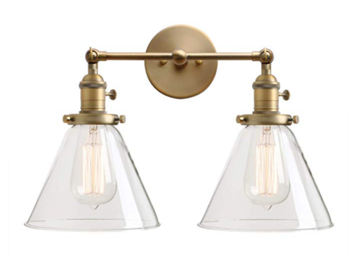 The Best Light Fixtures To Match Delta Champagne Bronze Trubuild Construction In 2020 Bronze Light Fixture Bronze Bathroom Light Fixtures Light Fixtures