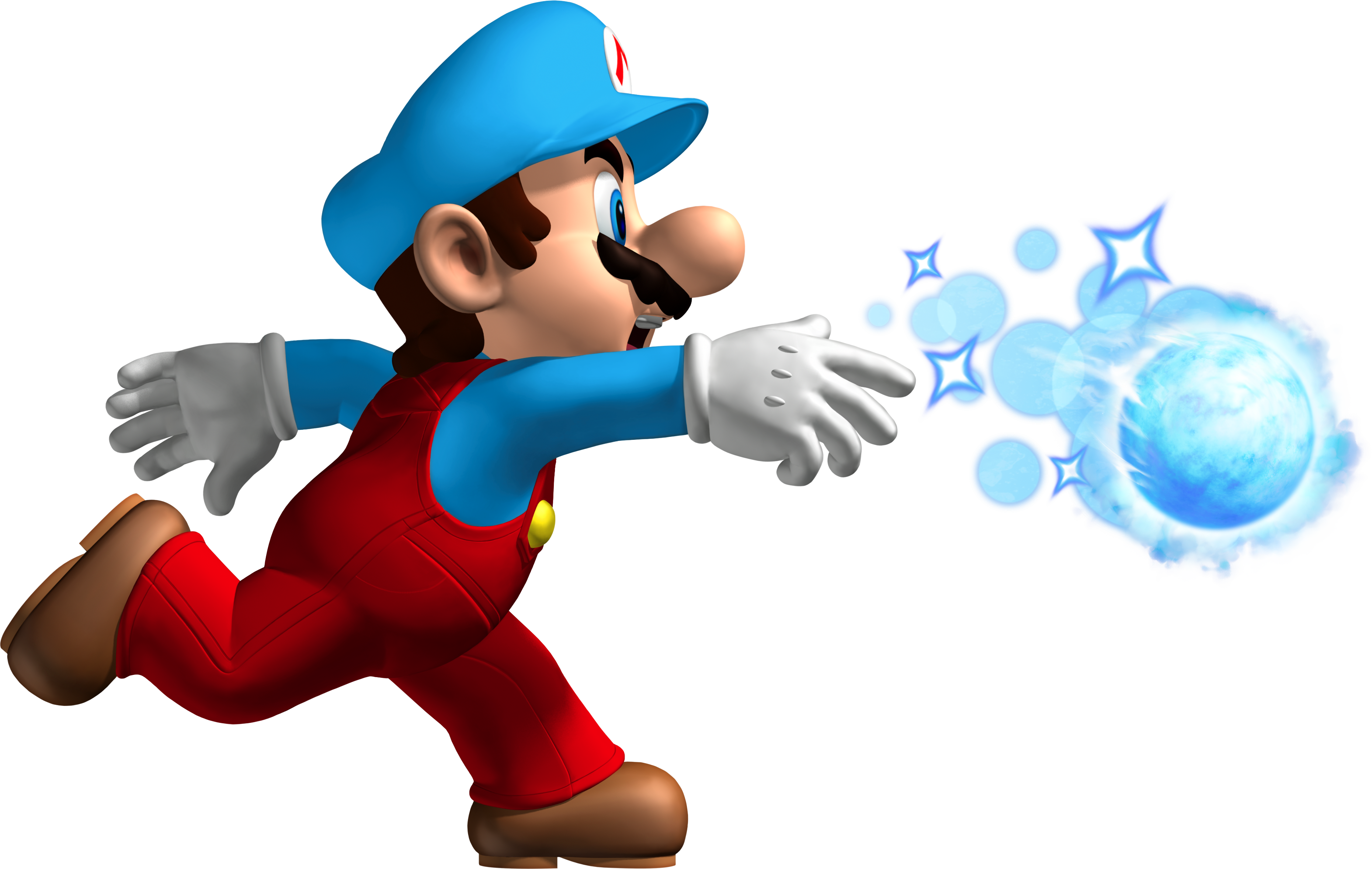 Nsmb Ice Mario Png 3721 2355 With Images