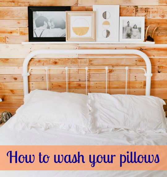 How To Wash a Pillow by Hand or Washing Machine Home