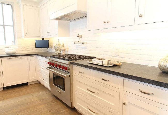 Painted Brick Backsplash Is A Timeless Yet Trendy Choice That S