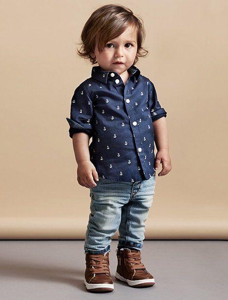 e00a27296 20 Adorables looks para vestir a tu pequeño y que sea todo un mini ...