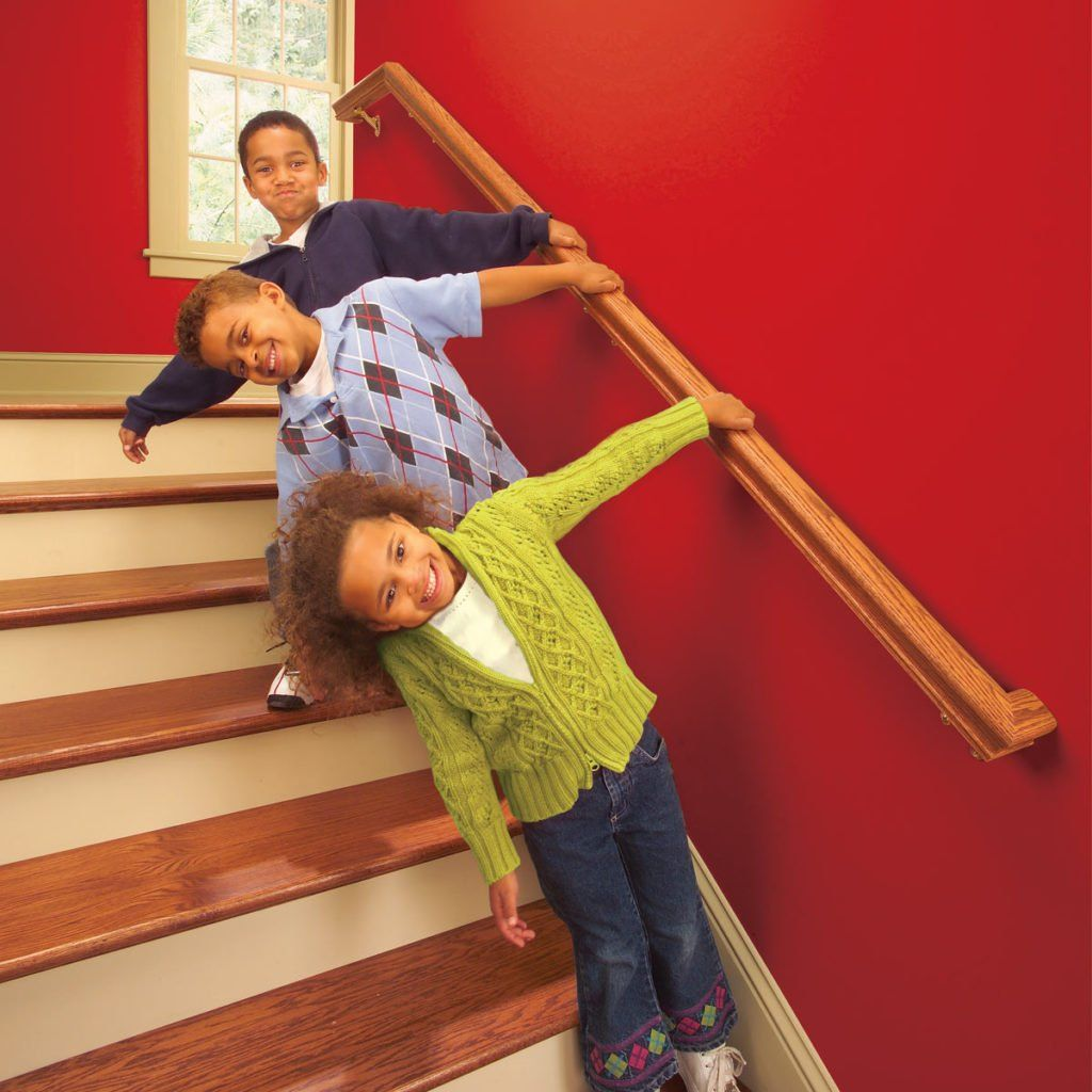 Best Install A New Stair Handrail With Images Stair 400 x 300