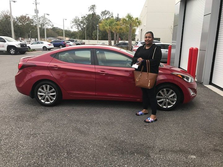 Special People Deserve Special Momentshere Is Latoya Guillory Taking Delivery Of Her Hyundai Elantra From Our Special Finance D Hyundai Elantra Elantra Hyundai