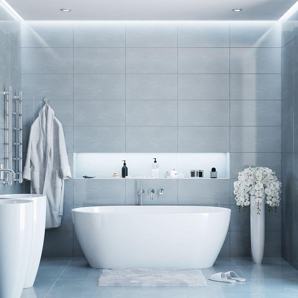 Gray Bathroom Ideas In 2021 Gray Bathroom Decor Bathroom Decor Bathroom Pictures Bathroom decor home depot