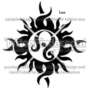 Tattoo Designs Sun Tattoos Leo Tattoo Designs Love It Planets