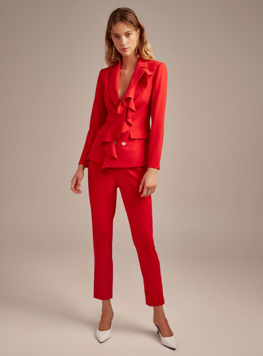 How to blazer a red wear pinterest exclusive photo