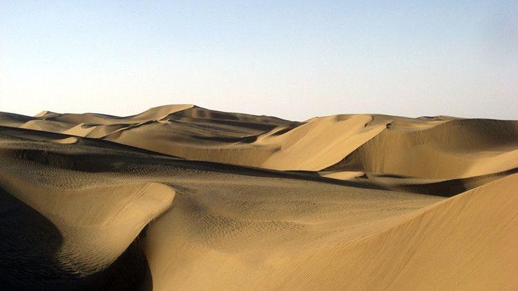Un desierto chino podría esconder un océano más grande que todos los lagos de Norteamérica