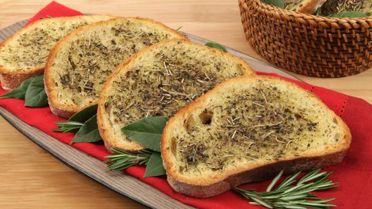 Toasted Herb Bread