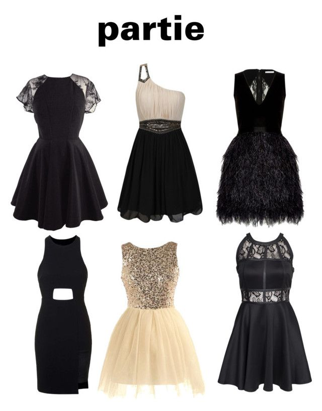 """""""paertie at cousins"""" by glam-4 ❤ liked on Polyvore featuring moda, Little Mistress, Alice + Olivia, Topshop e AX Paris"""