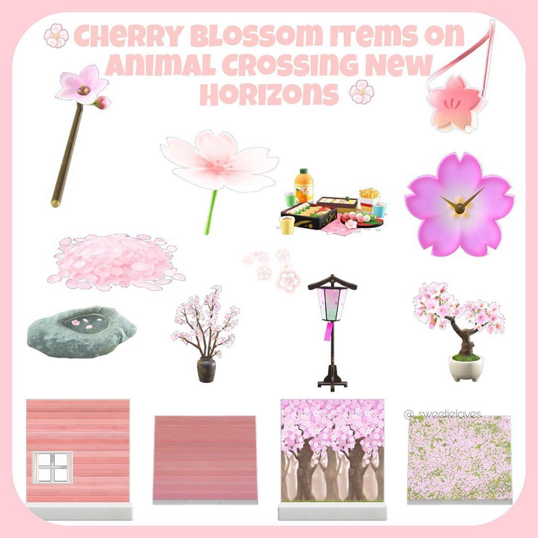 Animal Crossing New Horizons On Instagram It S Almost Time For Cherry Blossom Trees On Animal Animal Crossing Animal Crossing Funny Animal Crossing Game