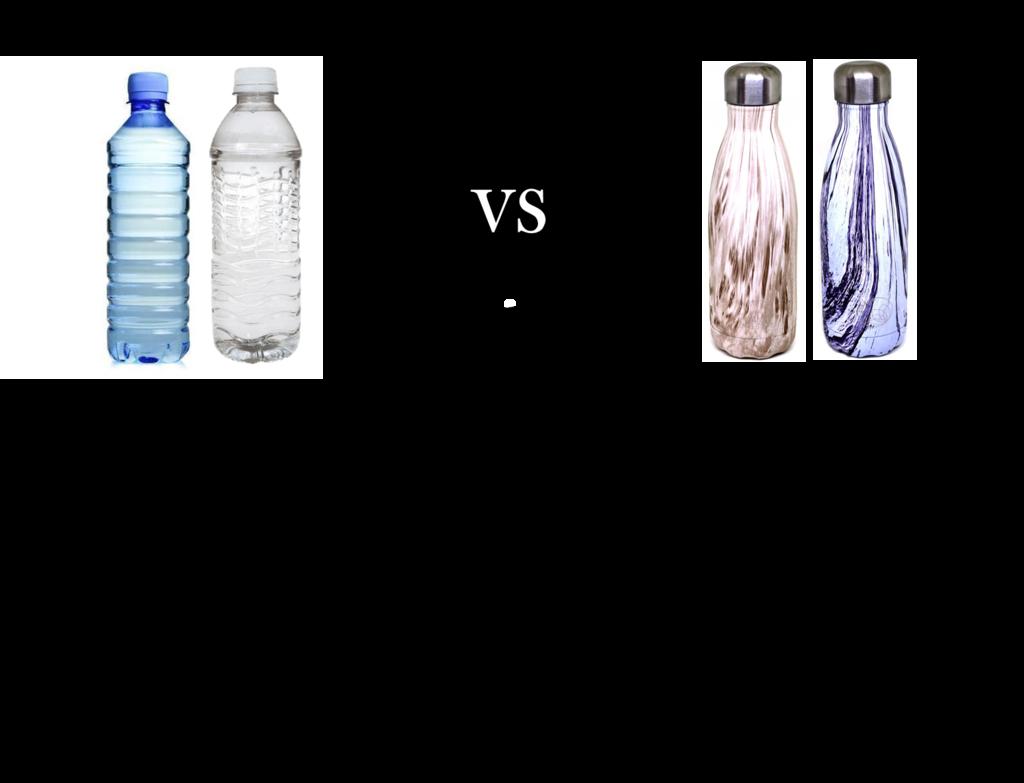 Plastic Vs Stainless Steel Steel Stainless Steel Reusable Water Bottle