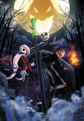nightmare before christmas puzzle by tenyo
