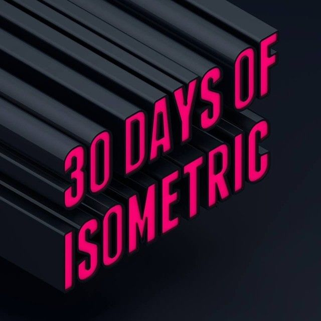 30 Days of Isometric  Challenge accepted.
