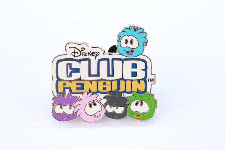 This Cool Disney Pin Features The Puffles From Club Penguin