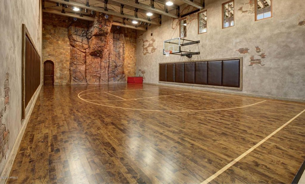 North Scottsdale Home For Sale Home Basketball Court Indoor Basketball Court Indoor Basketball