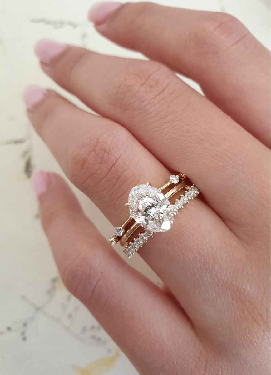 2 Pcs 925 Sterling Silver Rings for Women Engagement Ring Sets 1.7Ct Pear Shape Teardrop