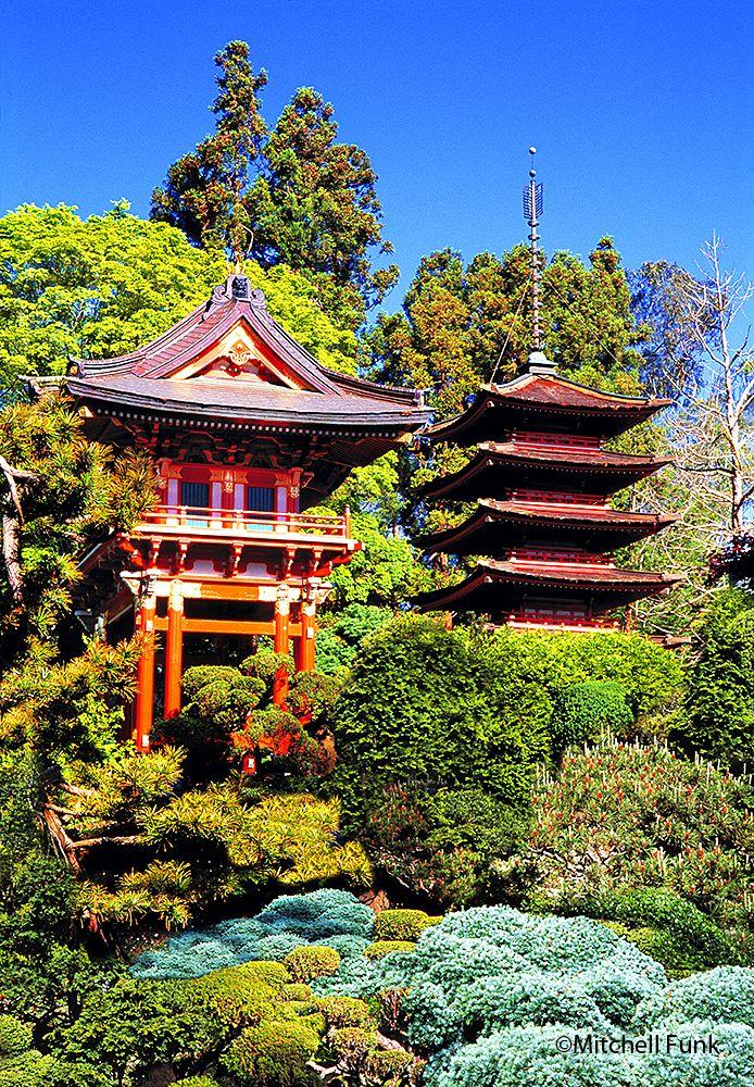 Japanese Tea Garden In Golden Gate Park, San Francisco www