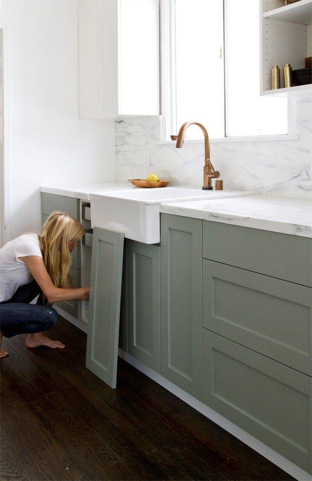 Upgrade: The SemiHandmade Kitchen Remodel | {Küchenschränke ikea 11}