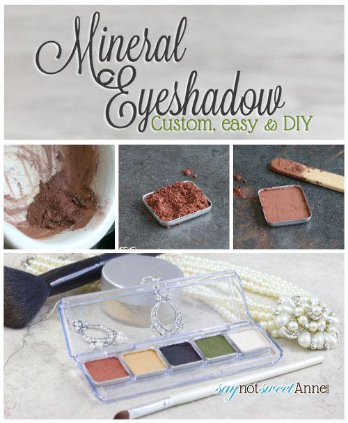DIY Eyeshadow – Sweet Anne Designs