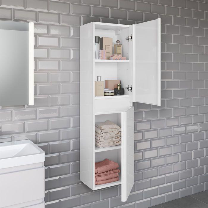 Essential Range Finsbury Three Piece Bathroom Accessory Set