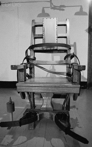 Electric Chair - BE080301 - Rights Managed - Stock Photo - Corbis & Electric Chair - BE080301 - Rights Managed - Stock Photo - Corbis ...