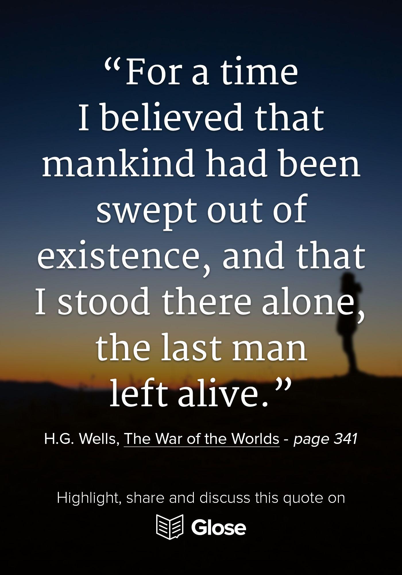 war of the worlds wells pdf