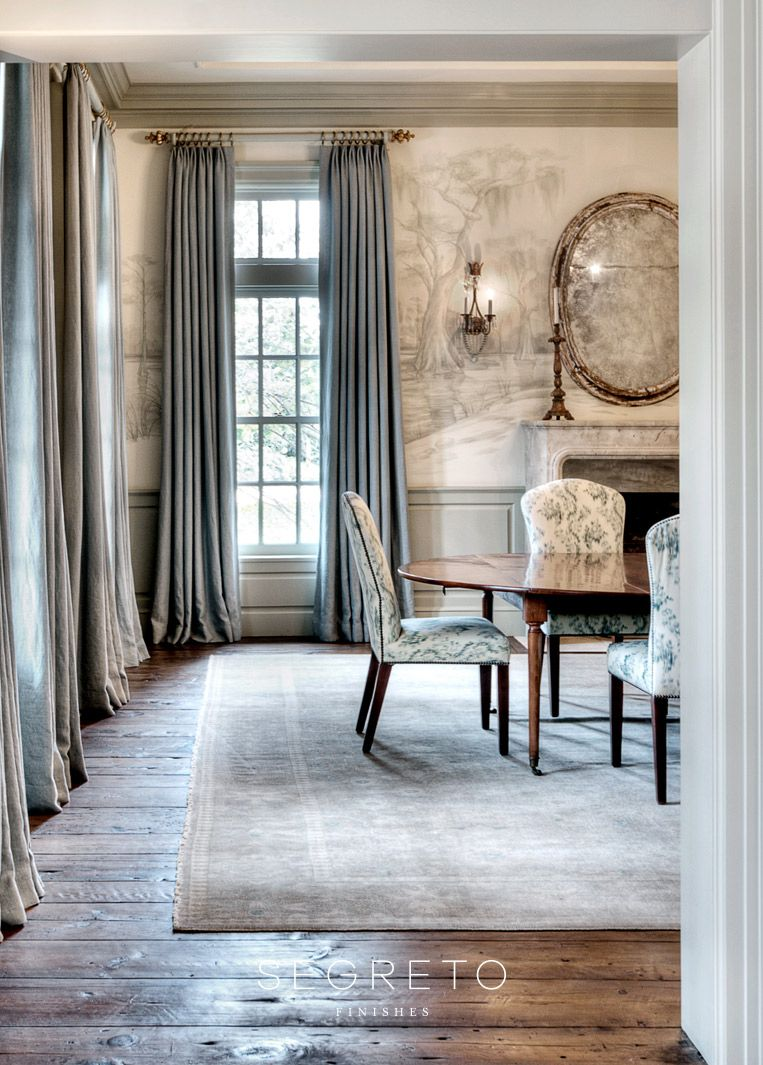 Photo of Plaster Walls, Finishes and Segreto Stone: French Country Inspiration! – Hello Lovely