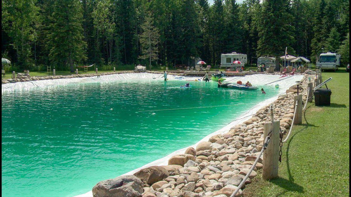 Man builds massive 317,000-gallon swimming pool in his ...