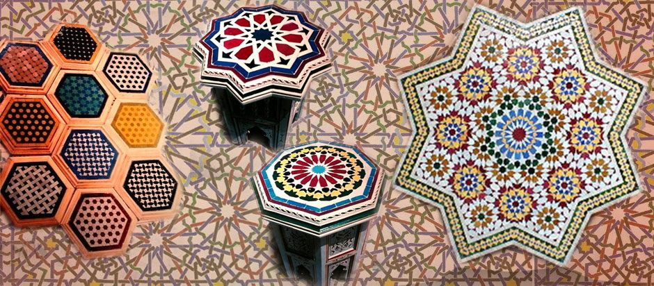الزليج المغربي التقليدي Cards Extraordinary Unique
