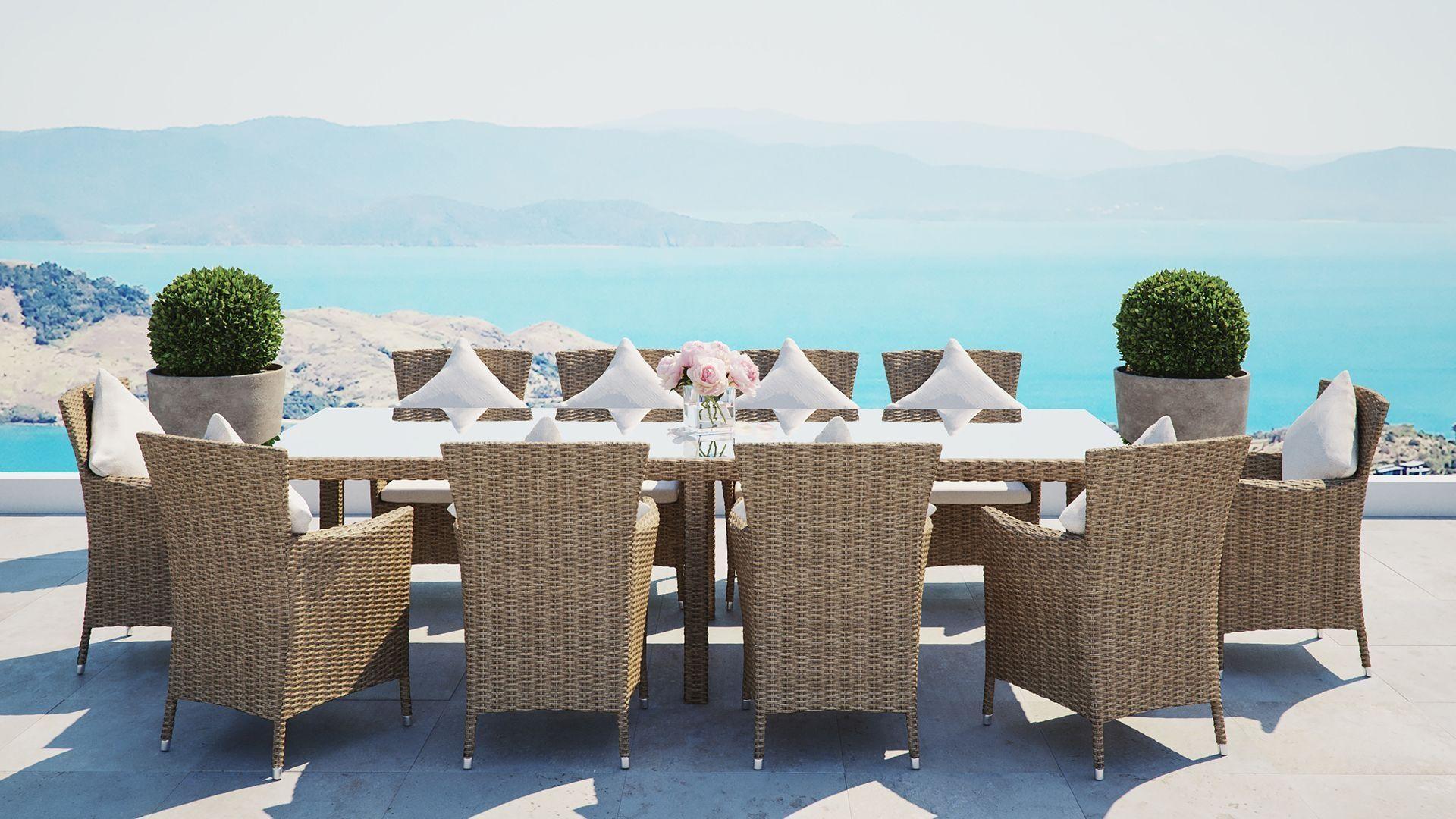 Ceres Xxl Decoration Salon Moderne Ensemble Table Et Chaise Table Et Chaises De Jardin