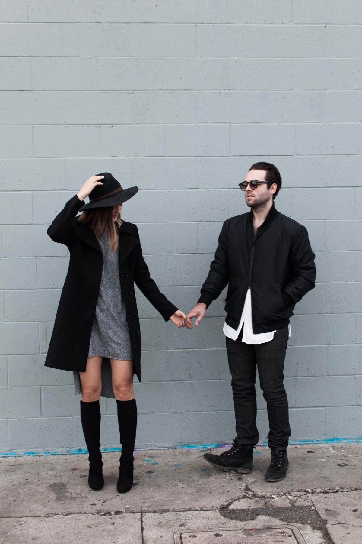 Los Angeles style blog - Michelle and Tyler Madsen
