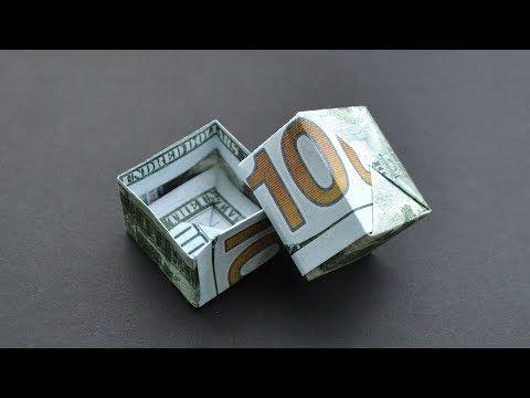Photo of Ausgezeichnetes Geld GESCHENKKASTEN   Origami Dollar Tutorial DIY